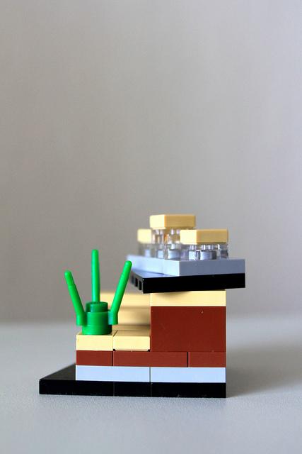 LEGO Cliff House -- 2