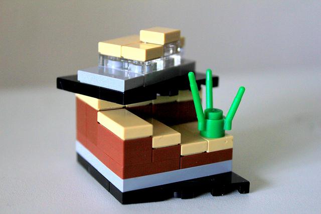 LEGO Cliff House -- 1